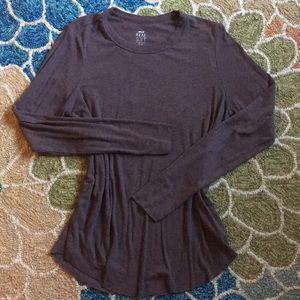 Dark brown Aerie Real Soft tshirt
